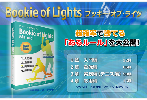 超確率投資法!Bookie of Lights